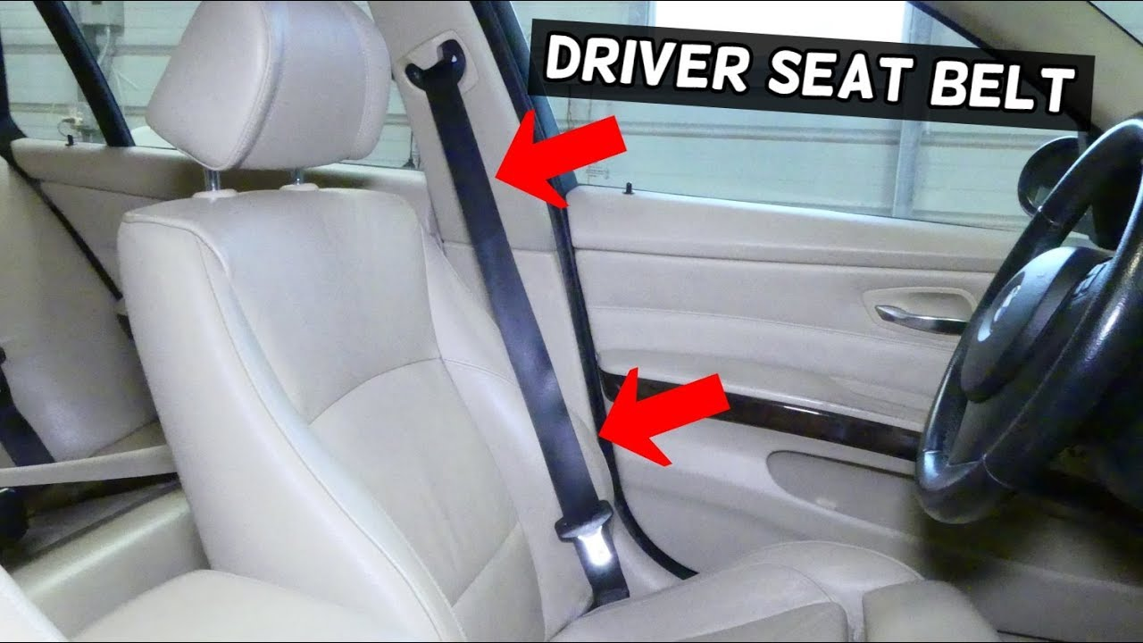 How To Remove And Replace Front Left Driver Seat Belt Bmw E90 E92 E91 E93