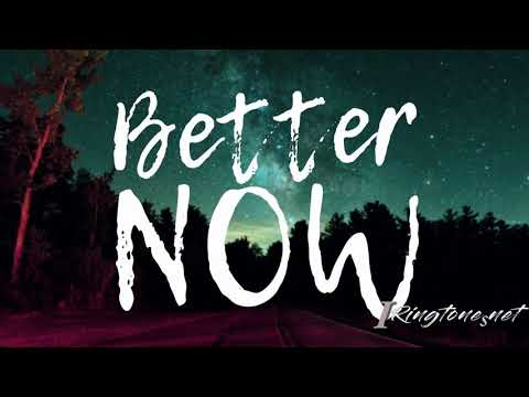 Post Malone - Better now ringtone free download | English ringtones for mobile