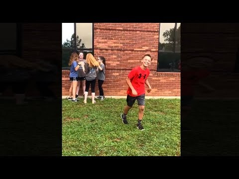 kid tries to impress crush by doing Fortnite emote, goes very wrong...