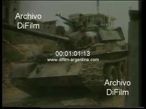 DiFilm - Military offensive against the Lebanese army 1989