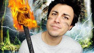 JE FAIS DU BATON DE FEU ! Et je me brûle...