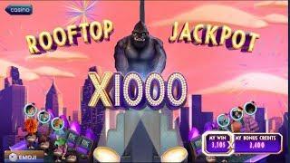Pop Slots! Kong (Complete Bonus Round + ROOFTOP JACKPOT x1000)