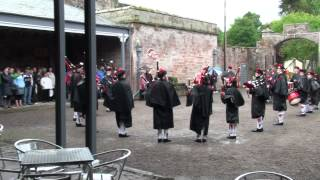 Lockerbie Pipe Band at Hoddom Castle Caravan Park, 3