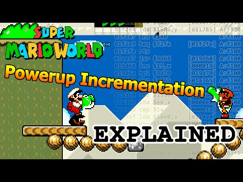 Super Mario World Powerup Incrementation Explained