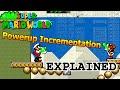 Super Mario World Powerup Incrementation