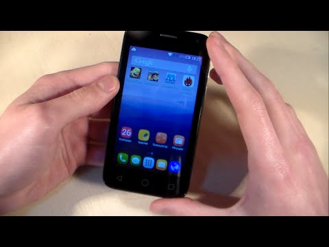 Обзор Alcatel One Touch Pixi First (4024D)