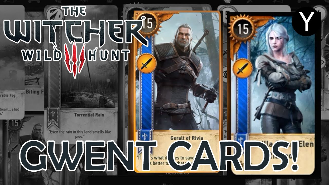 How to get geralt of rivia and ciri gwent cards the - Ciri gwent card witcher 3 ...
