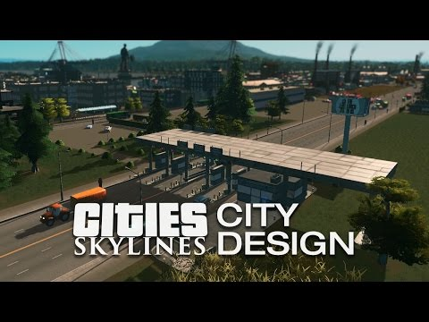 Industrial Area — Cities Skylines: City Design