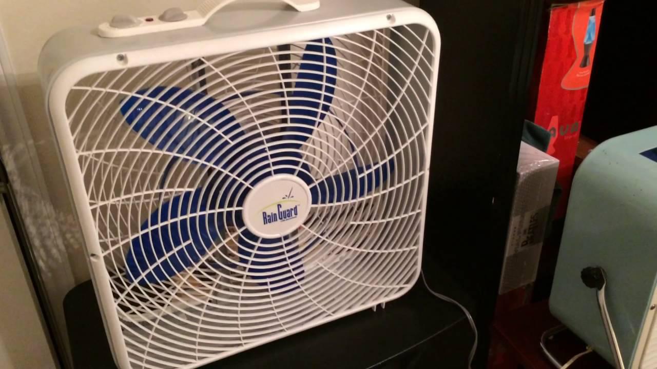 Lakewood Box Fan 20 : Lakewood model rg quot rainguard box fan w