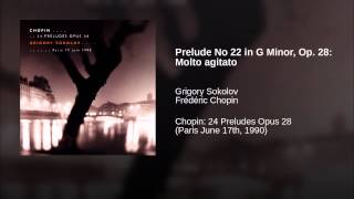 Prelude No 22 in G Minor, Op. 28: Molto agitato