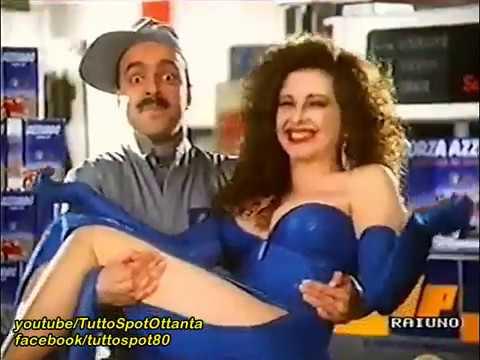 Spot- Super Oil IP con FRANCESCA DELLERA - 1989