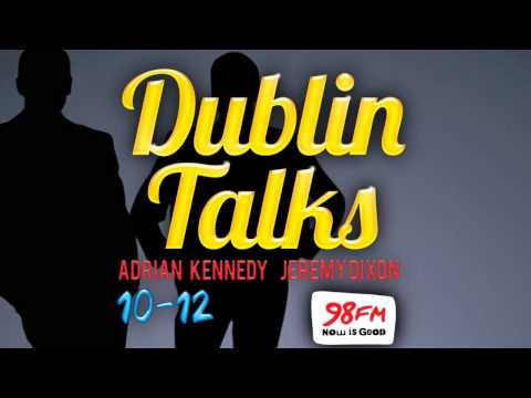 98FM's Dublin Talks - First EVER Broadcast! (Part 1) (Off Your Chest)
