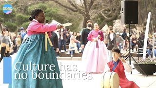French lady sings the hardest traditional Korean folksong | K-DOC