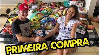 PRIMEIRA COMPRA PARA A CASA NOVA, CHEGOU NOSSA MAQUINA E FOGÃO! | VLOG