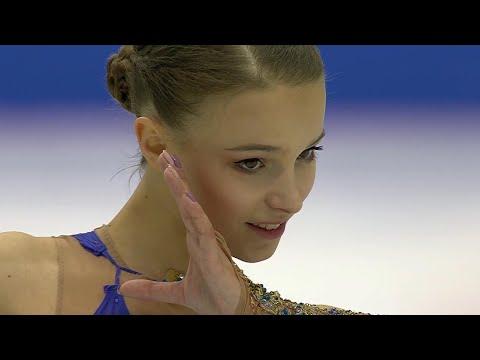 Весь пьедестал в финале Гран-при по фигурному катанию заняли российские спортсменки.