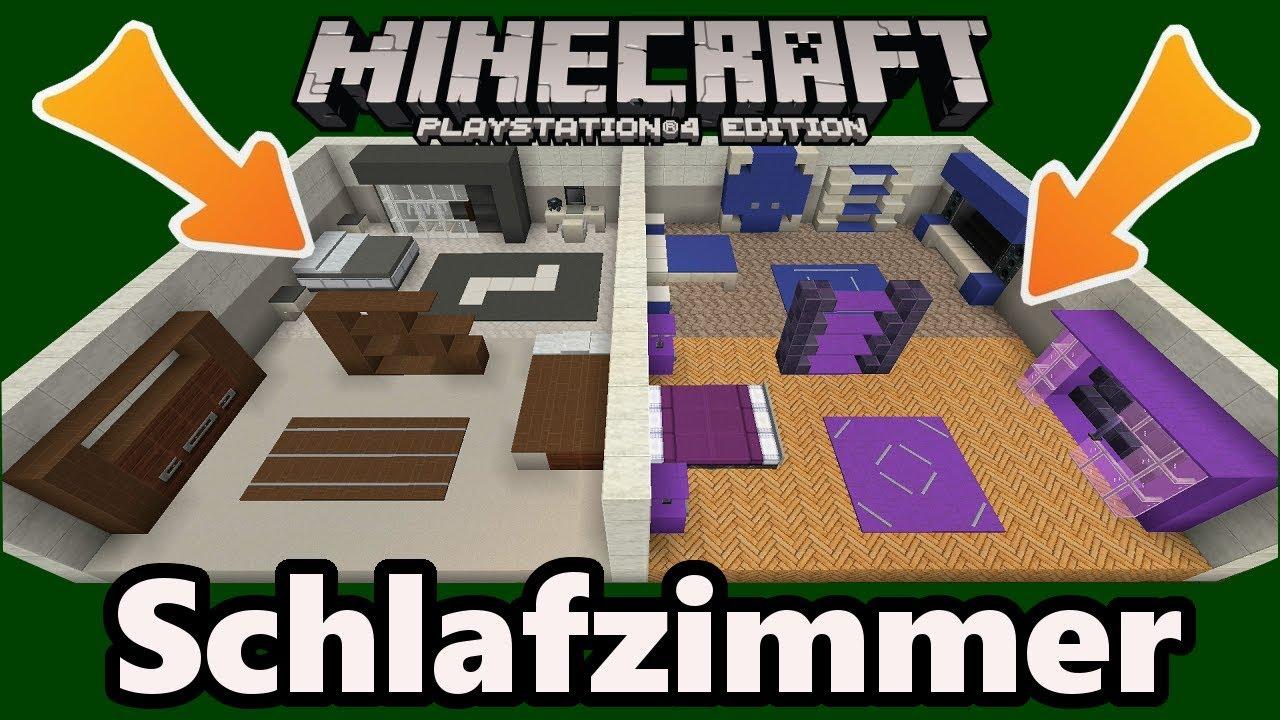 Minecraft schlafzimmer einrichtung deko designs gegenst nde youtube - Minecraft schlafzimmer ...