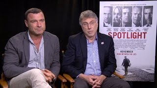 Liev schreiber and marty baron talk to alexandra heilbron about the new movie 'spotlight.' is real-life boston globe editor whom plays in ...