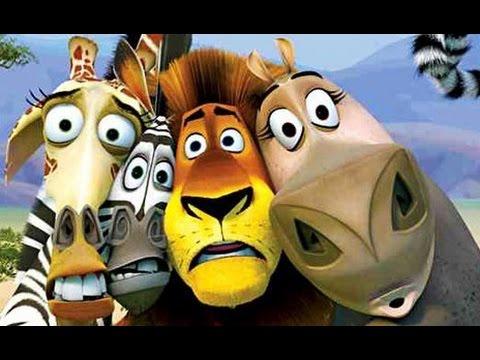 MADAGASCAR ALL CUTSCENES - FULL  ADVENTURE GAME MOVIE for kids