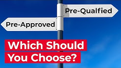 Difference Between Pre-Approved and Pre-Qualified for a Mortgage