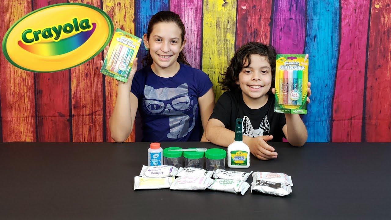 Crayola Model Magic Gooey Fun! Party Kit | Super Family Fun