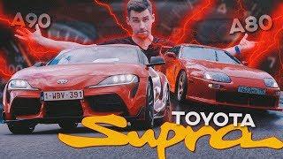 Toyota Supra: Битва Поколений [A90 vs. A80]
