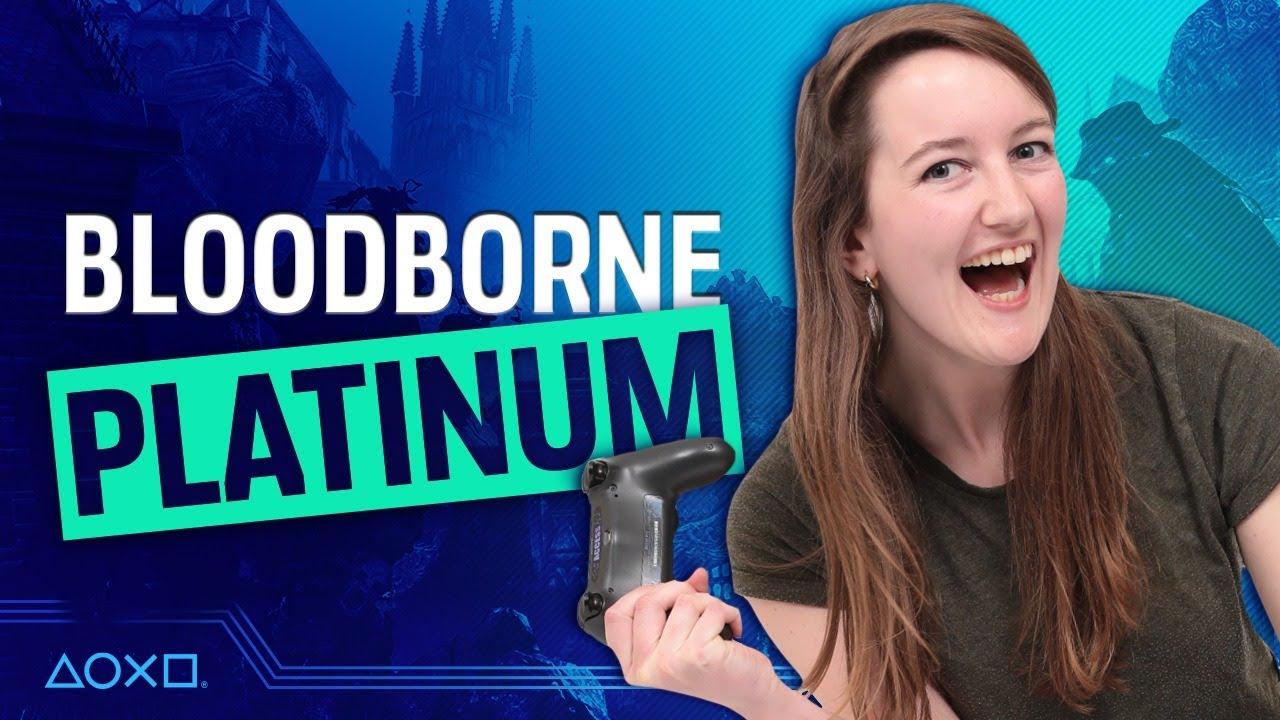 Bloodborne NG+ - We Get The Platinum Trophy!