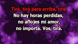 Tira Para Arriba (con letra) - Miguel Mateos (karaoke)