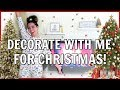 DECORATE WITH ME: decorating my apartment for christmas! + updated holiday themed apartment tour