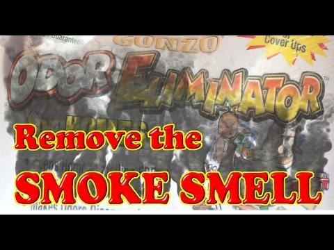 how to remove cigarette smoke smell from books and other items youtube. Black Bedroom Furniture Sets. Home Design Ideas