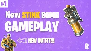 *NEW* STINK BOMB HAS ARRIVED IN FORTNITE - Fortnite Funny Fails and EPIC PLAYS! #1 (Daily Moments)