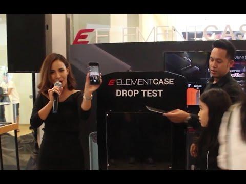 Drop Testing Element Case in Thailand