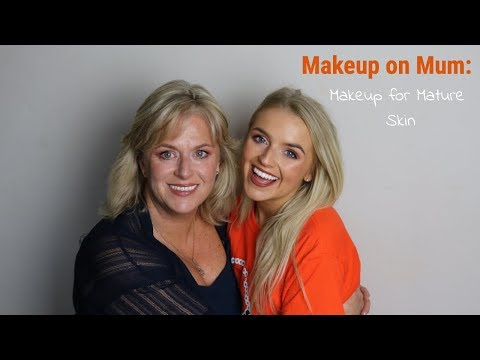 DOING MY MUM'S MAKEUP | MAKEUP FOR MATURE SKIN