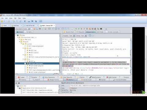 Kali Linux Web App Testing: OWASP ZAP | packtpub.com