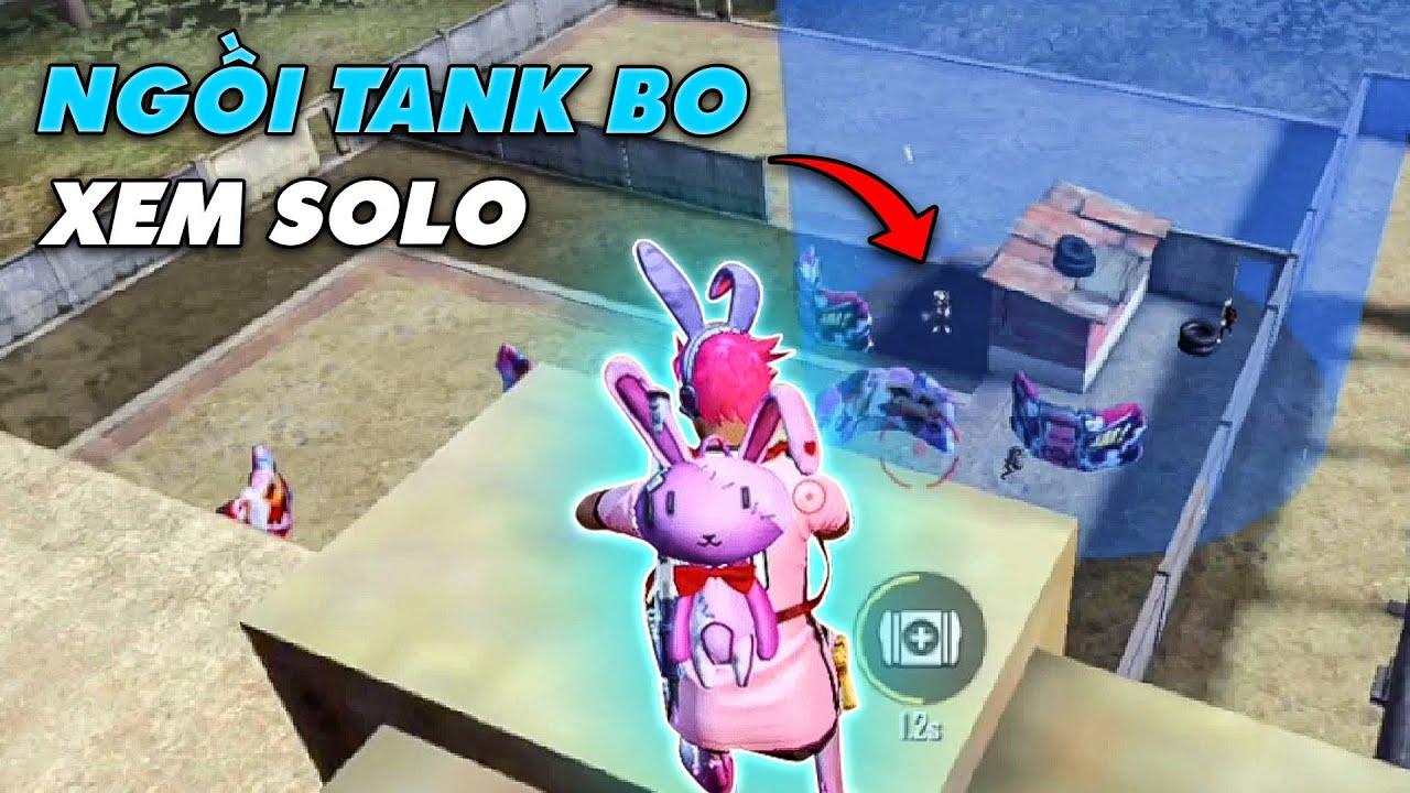 [Free Fire] Ngồi Tank Bo Cuối Tiện Xem Solo Bên Dưới Xưởng   ANH FORD
