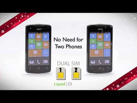 ACER Z3 Liquid Duo Android Smart Phone Christmas Ad Ireland