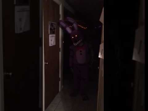 Five Nights at Freddy homemade costume Withered Bonnie