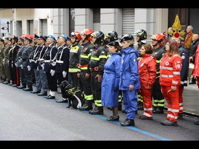 Domenica 4 novembre, festa delle Forze Armate.