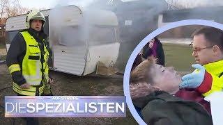 Robin (12) kämpft ums Überleben: Wohnwagen in Flammen | Franco Fabiano | Die Spezialisten | SAT.1