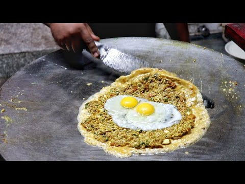 Most Hygienic 3 Layer Omelette Dishes | Egg Street Food | In