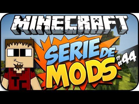 Minecraft Serie de Mods Ep#44 [CRACKER EL PINTOR]