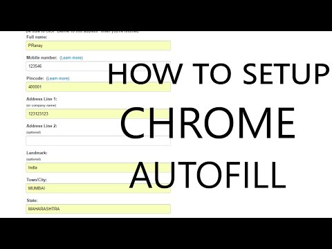 How To Setup Chrome Autofill? The Easy Way!   Fill Forms With One Click