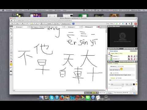 Pelajaran Bahasa Mandarin - TTM Online - Pertemuan 4 (Episode 1)