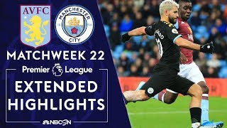 Aston Villa v Manchester City  PREMIER LEAGUE HIGHLIGHTS  1122020  NBC Sports
