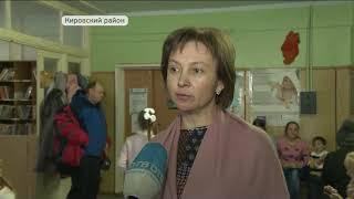 Автопоезд с десантом федеральных врачей работает в Кировском районе
