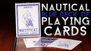 Deck Review - The Nautical Blue Playing Cards