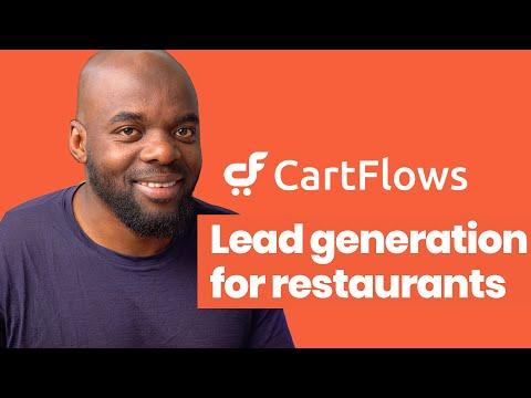 Cartflows tutorial – Lead generation for restaurants