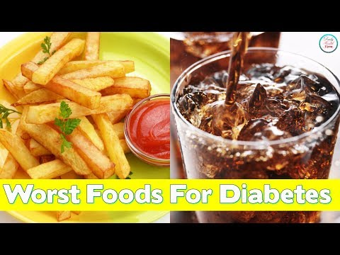 10 Worst Foods for Diabetes