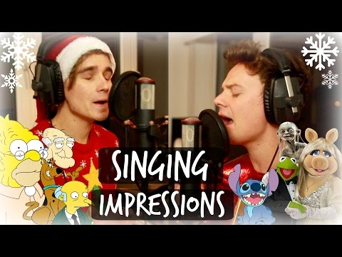 CHRISTMAS SINGING IMPRESSIONS WITH CONOR MAYNARD