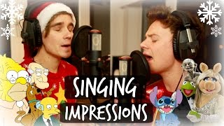 flushyoutube.com-CHRISTMAS SINGING IMPRESSIONS WITH CONOR MAYNARD