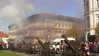 24 Salwy Armatnie ☆ 3D ☆ Warszawa ☆ Święto Niepodległości 11-11-2013